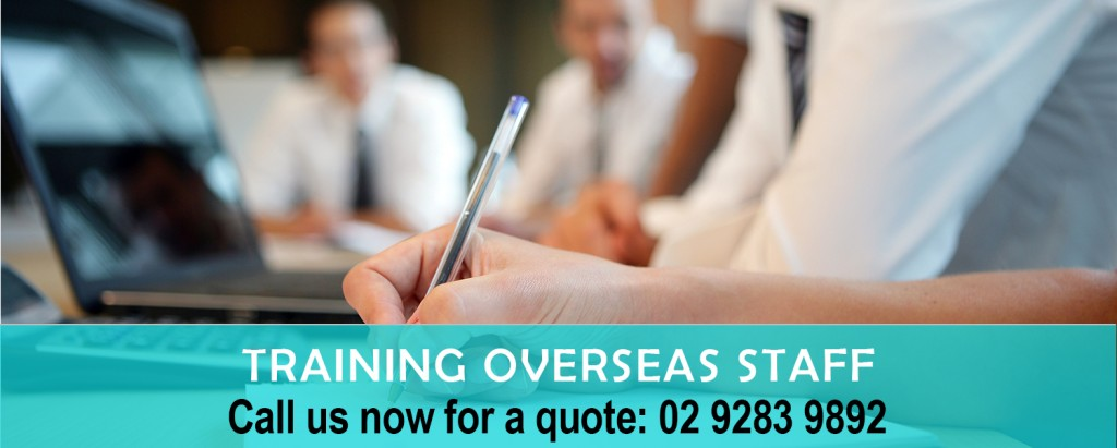 Training Oversea Staff copy